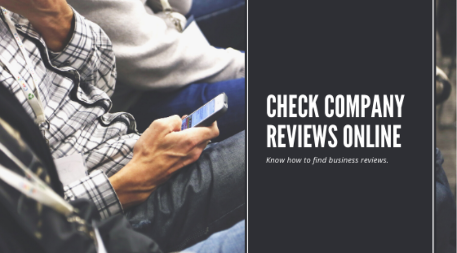 How to check reviews about a company